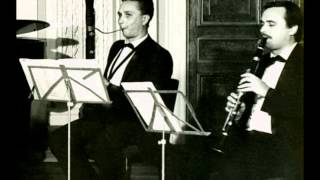 6 sonatas for clarinet, bassoon and clavir
