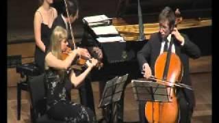 Trio in F major op 22 – II Mov Andante con variazioni