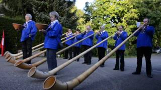 Swiss Alphorns
