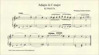 Adagio in C major, K 356