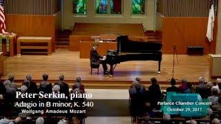 Adagio in B minor K.540
