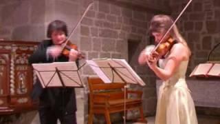 Grand Duo pour 2 violons op. 57 - I. Moderato